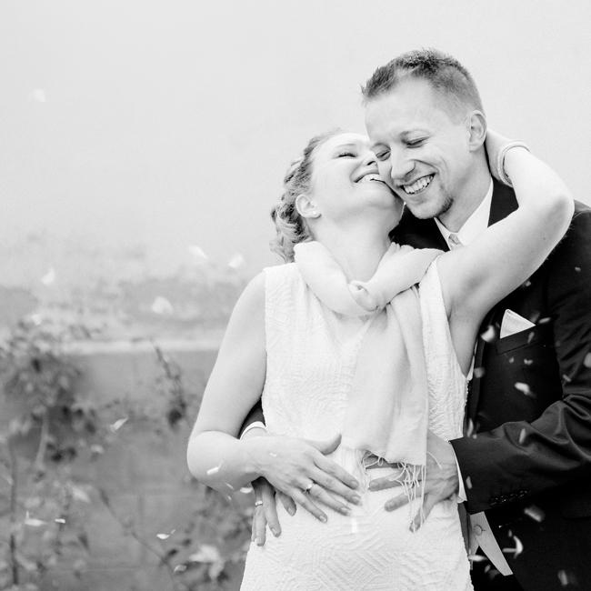Winterliche Brautpaar-Portraits