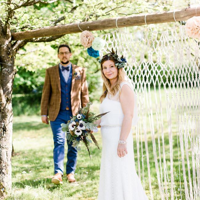 Eine märchenhafte Boho-Vintage Hochzeit