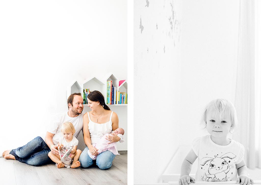 Neugeborenenshooting im eigenen Zuhause