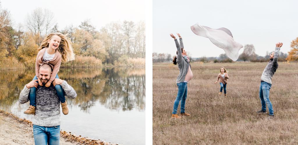 Winterliche Familienportraits, Familienfotografin Bruchsal