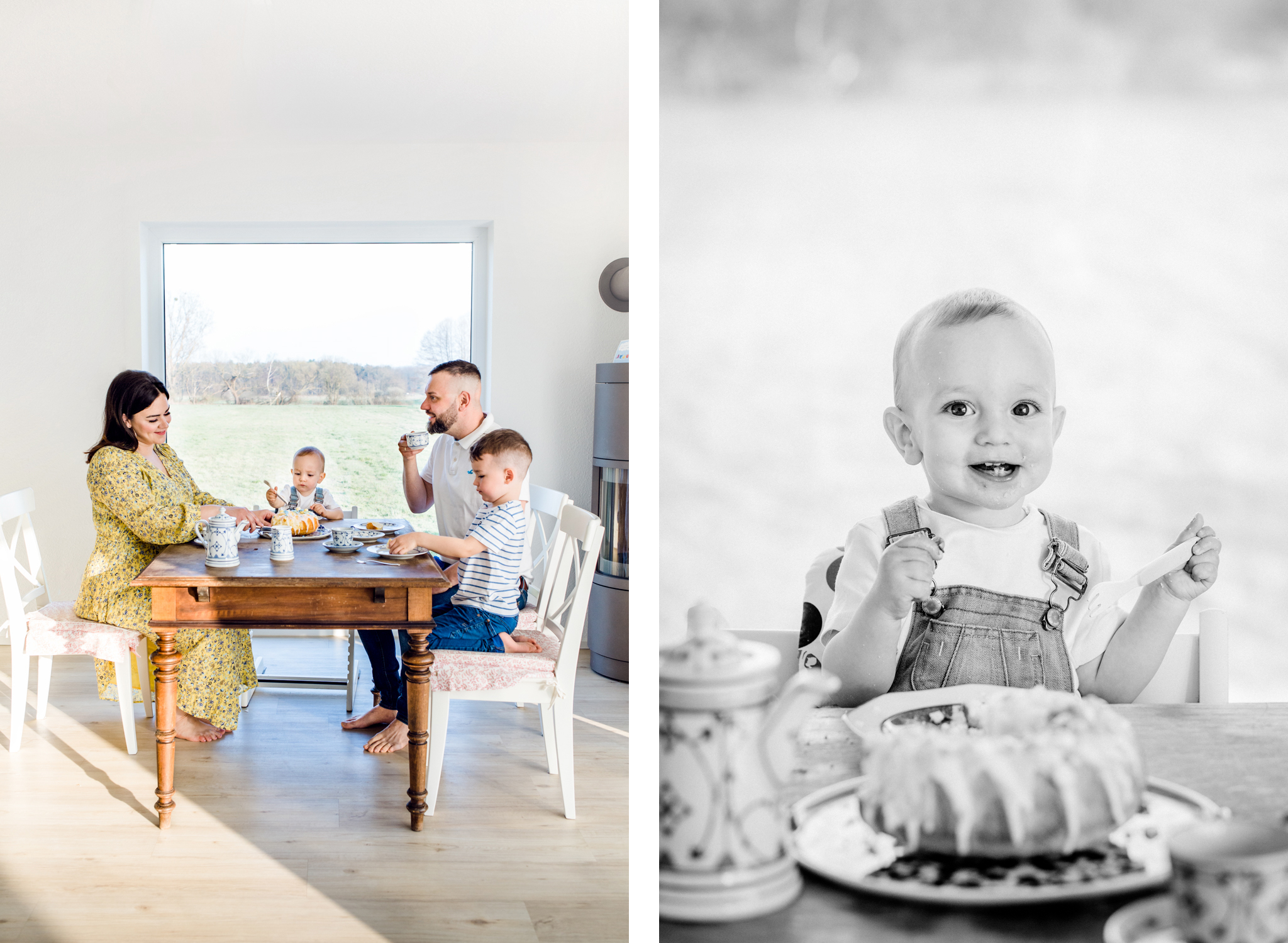 Fotoshooting zum 1. Geburtstag