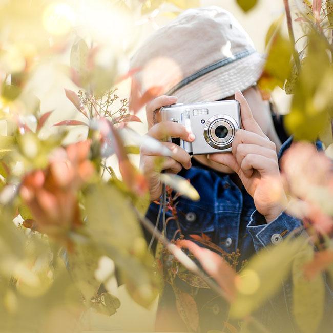 Fotosafari für den Kindergeburtstag